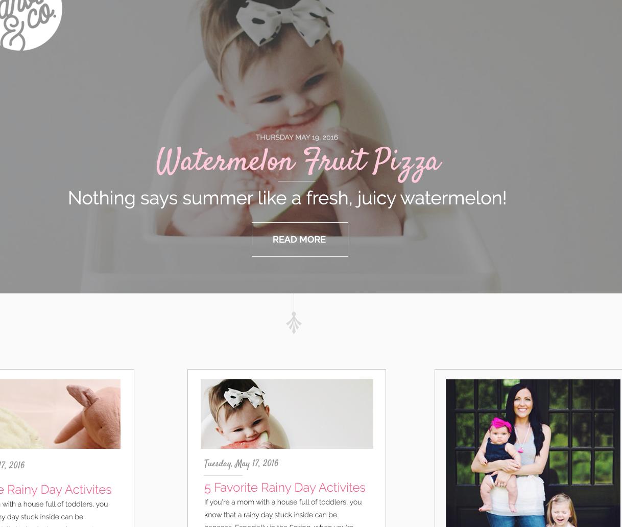 Holly Reynolds - UI and Web Design - GarvinAndCo.com